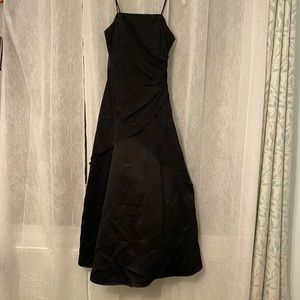 Strapless Jump Apparel Gown